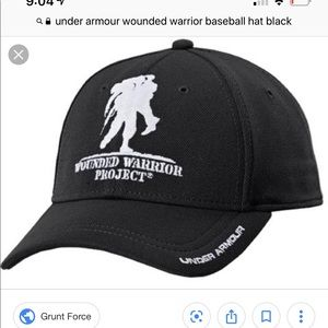 newest 033dc 6785d Under Armour. Under Armour Wounded Warrior Project Baseball Cap